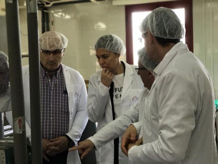 San Damián visita la Escuela de Industrias Lácteas para poner en valor un proyecto de éxito para Zamora